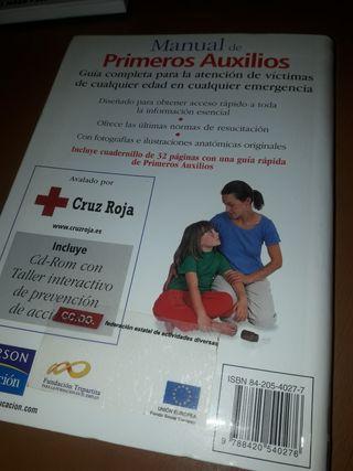 LIBRO PRIMEROS AUXILIOS 3 EUROS