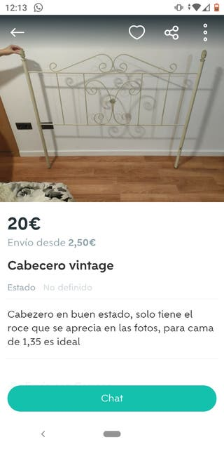 Cabecero Vintage