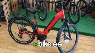 Bicicleta eléctrica de trekking talla S