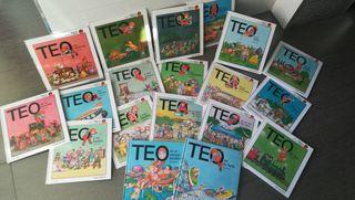 Colección cuentos TEO(19 en total) como nuevos