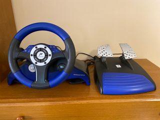 Volante PS2 Fanatec Speedster 3