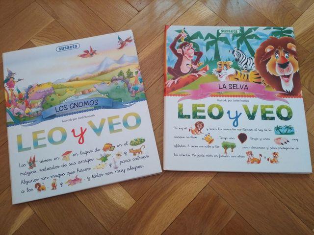 Cuento infantil Leo y Veo