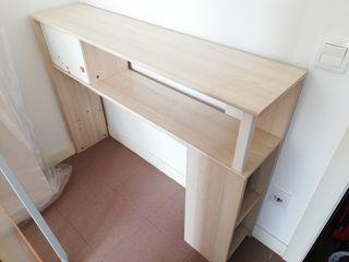 Mueble cabezal de niña
