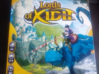 Lord of Xidit Juego de Mesa
