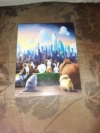 Mascotas película Bluray Steelbook
