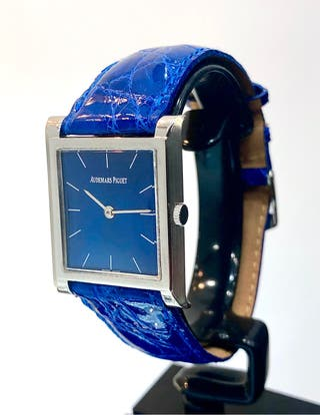 Reloj Audemars Piguet Special Blue.Oro blanco 18ct