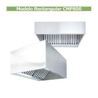 Campan Industrial Inox modelo Rectangular