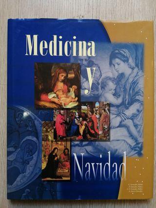 MEDICINA Y NAVIDAD. Libro de pintura.
