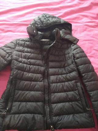 abrigo negro t-L