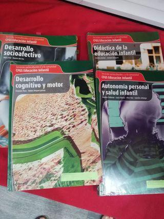 libros G.S. Educación Infantil