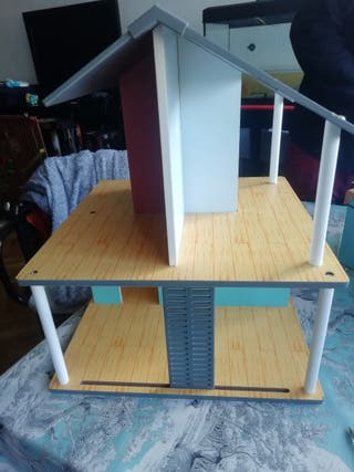 Casa de muñec@s madera