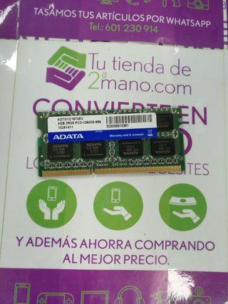 RAM ADATA 4GB 2RX8 PC3-10600S