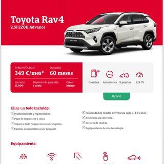Toyota RAV4 2.5l 220H Advance