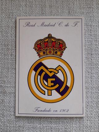 Postal Real Madrid 1996!