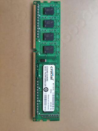Memoria Ram Crucial 2GB