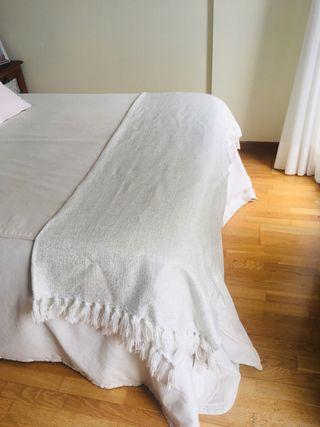 Plaid cama matrimonio