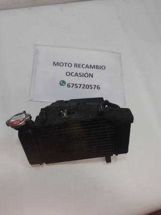 Radiador c/electro ventilador pequeño golpe