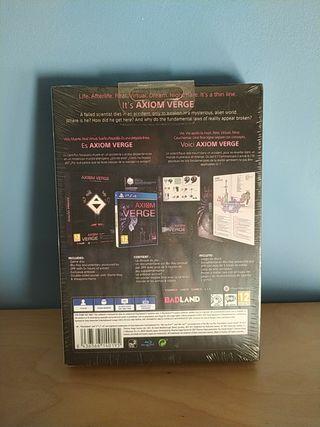 Axiom verge multiverse Edition PRECINTADO ps4