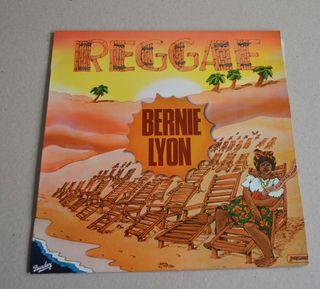 """DISCO DE VINILO DE BERNIE LYON """"REGGAE"""""""