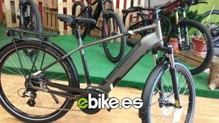 Bicicleta eléctrica alemana motor central Bosch