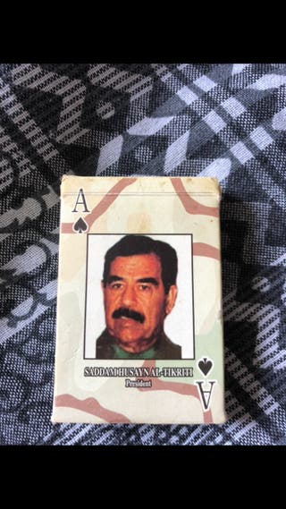 Cartas Póker Irak