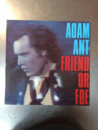Adam Ant, Friend Or Foe, Vinilo