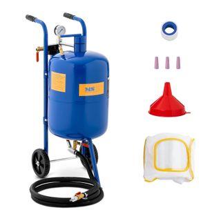 Máquina de chorro de arena móvil 40 L 8,6 bar