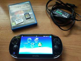 Ps Vita 1000 OLED 3G + Minecraft + Adaptador mSD