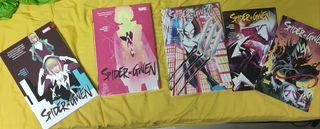 Colección completa Spider-Gwen USA