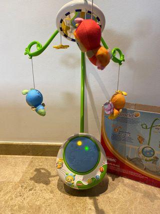 Carrousel / móvil para cuna bebe