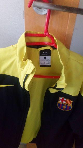 chaqueta chubasquero niño/a barça