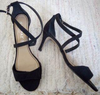 Sandalias de ante