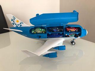Avion Cars 2 teledirigido Everett de Disney