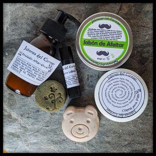 Pack #1 para hombre, jabón de afeitar
