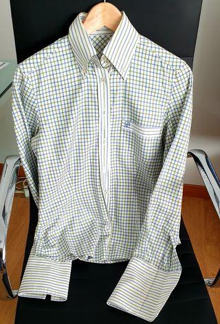 Camisa Mujer – Carolina Herrera en Azul Marino de Segunda