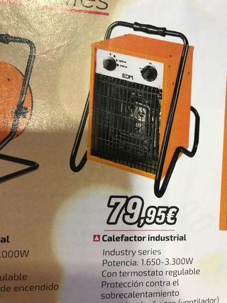 Calefactor industrial 3300w NUEVO