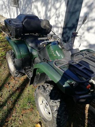 quad atv Yamaha grizzly 660