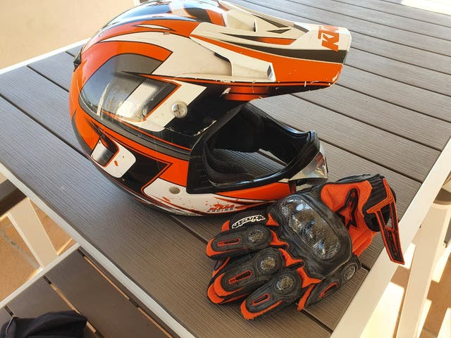 casco cross KTM