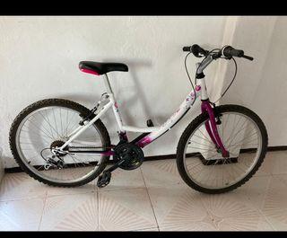 Bicicleta con cambio Shimano