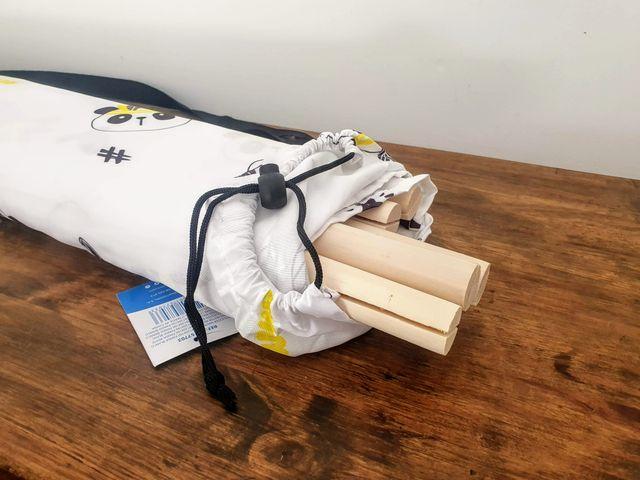 NUEVO- Tipi infantil madera panda (140X120X160 cm)