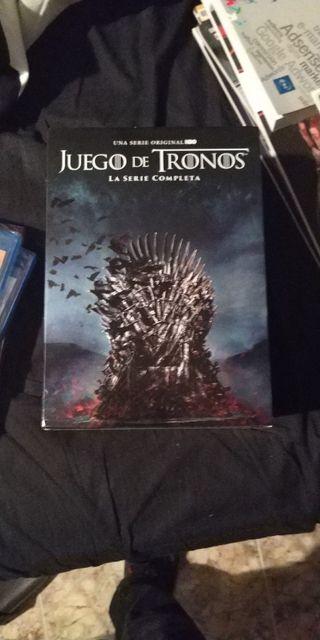 Colección completa Juego de Tronos DVD
