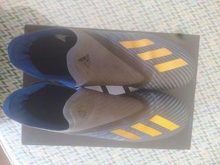 Botas de fútbol Adidas X19 Gama media sin cordones