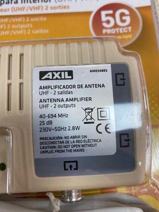 Amplificador antena tdt televisión