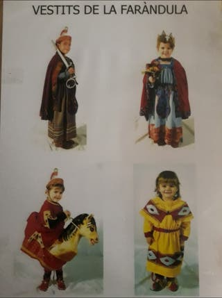 Vestits per a nens de la faràndula olotina