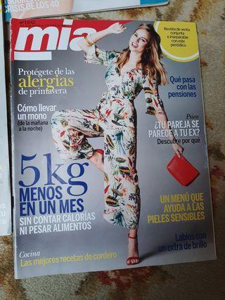 lote revistas mía