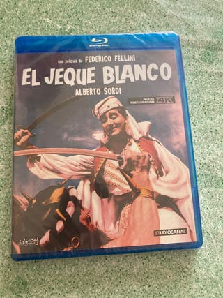 El jeque blanco ( Blu Ray )