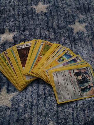 Lote cartas pokemon aleatorias