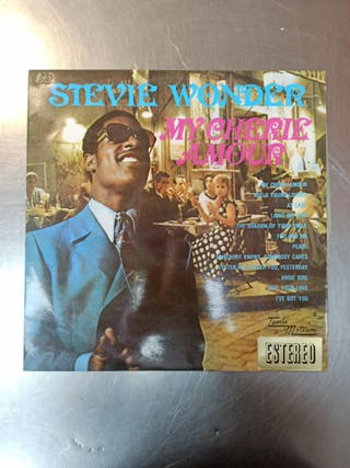 Stevie Wonder, My Cherie Amour, Vinilo