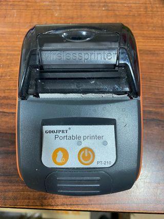 Impresora térmica portátil