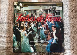 Vinilo orquesta de la opera popular de Viena.